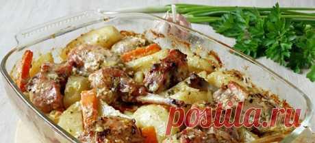 Кролик в духовке с овощами — Sloosh – кулинарные рецепты