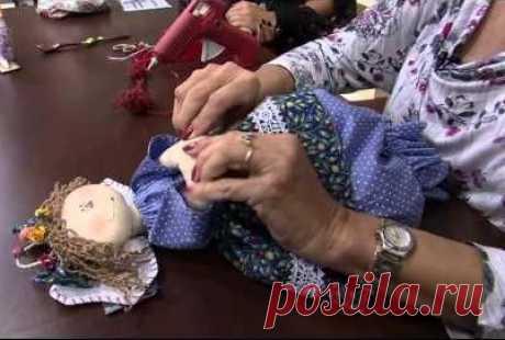 Кукла пакетница. Видео мастер класс. Выкройка