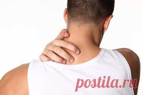Мышечные зажимы шеи и спины: снятие боли изменением позы - МирТесен