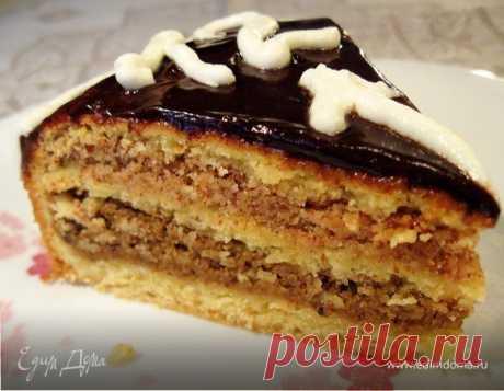 Торт «Ореховые мотивы». Ингредиенты: мука, разрыхлитель, сахар | Официальный сайт кулинарных рецептов Юлии Высоцкой
