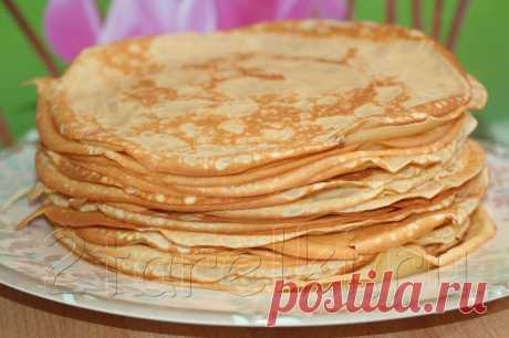 The most tasty pancakes 2 PLATES