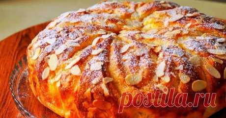Домашний яблочный пирог с миндалем - Со Вкусом