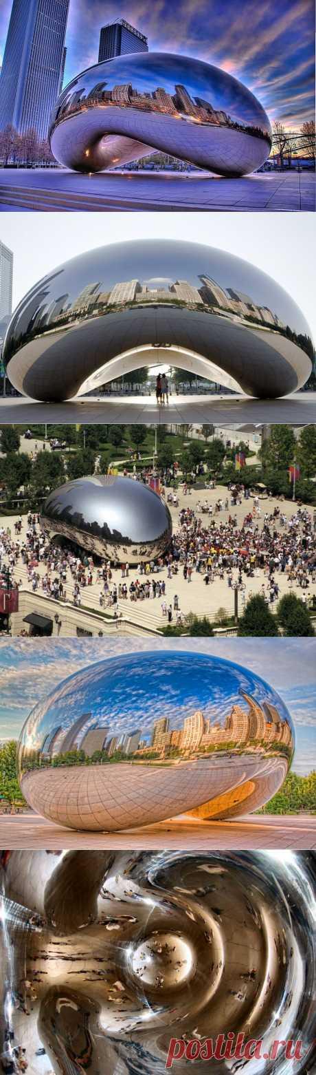 Cloud Gate: символ Чикаго (США)