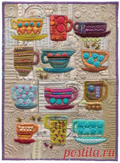 Jun 23, 2017 - Code: B1353 ISBN: 9781604687224 Author: Sue Spargo  For sumptuous texture and depth, nothing compares to the handwork quilts of acclaimed folk-artist and designer Sue Spargo. This hardcover, 144-page coffee-table book of inspiration is filled with 200 de