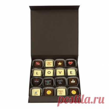 Любовь... Слово, в котором скрыто многое... Набор шоколадных конфет LOVE напомнит адресату о том, насколько сильно вы его любите.