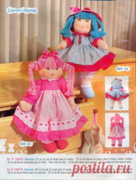 Текстильные куклы. Журнал с выкройками