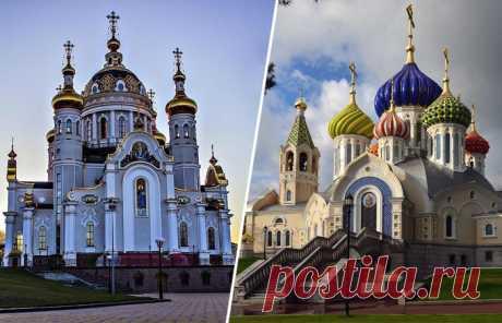 Почему на православных храмах купола разного цвета и что означает их количество