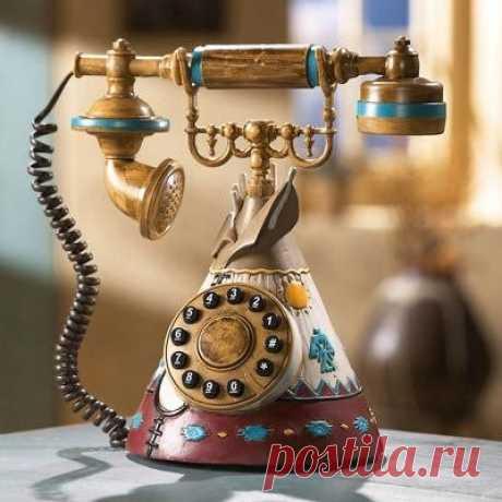 У меня зазвонил телефон ...