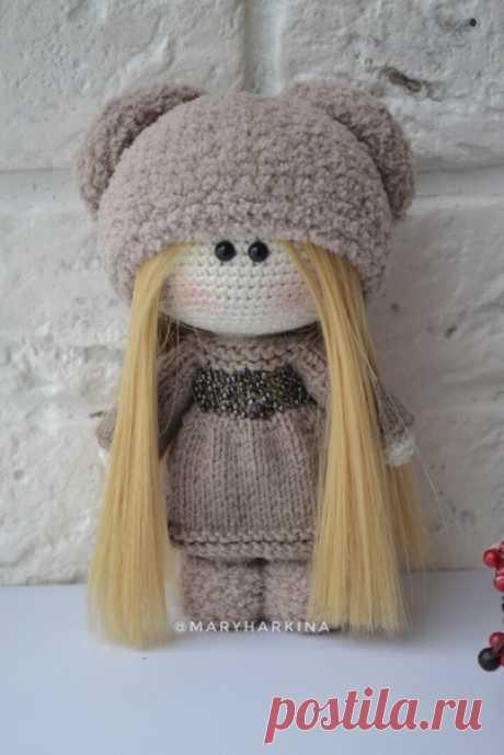 Мк куклы  Автор Харькина Мария   #амигуруми #weamigurumi #crochetdoll #куклакрючком #мкповязанию #вязанаякукла