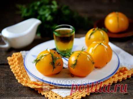 Малосольные помидоры в пакете (с чесноком) — рецепт с фото Чем дольше помидоры лежат в рассоле, тем больше становятся похожими на квашеные бочковые. Только готовятся значительно быстрее и проще...