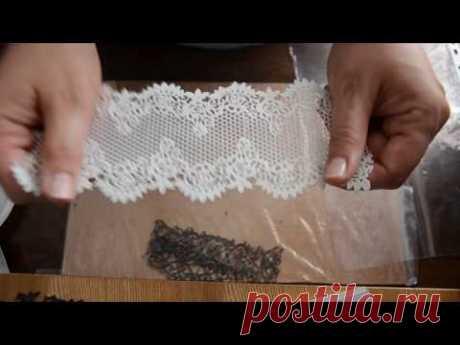 Литое эластичное кружево из шпаклёвки и герметика (1)