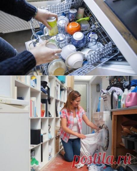 Как уничтожить плесень и бактерии в стиральной и посудомоечной машине - Журнал для женщин