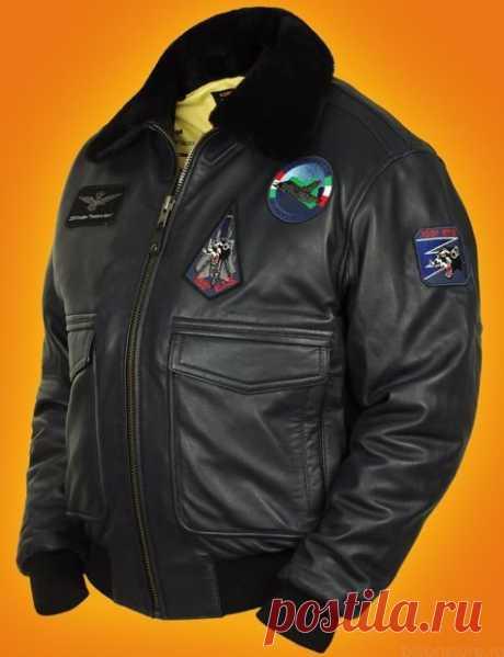 Лётные кожаные американские куртки в интернет-магазине Bison store, г. Москва