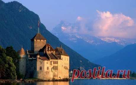 Шильонский замок, Швейцария — Путешествия
