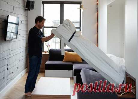 Квартира 33 кв.м. с умной мебелью покорила меня! | flqu.ru - квартирный вопрос. Блог о дизайне, ремонте