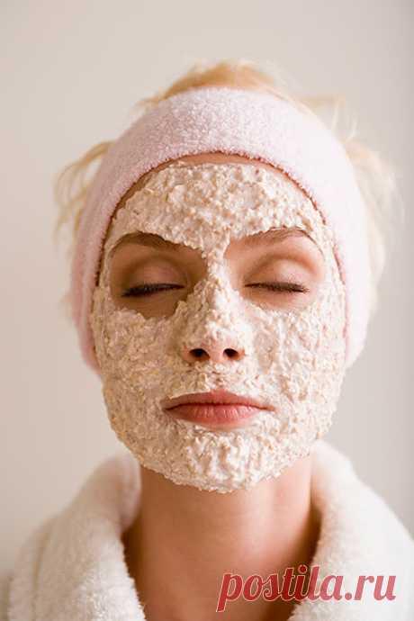 Омолаживающие свойства маски из овсянки