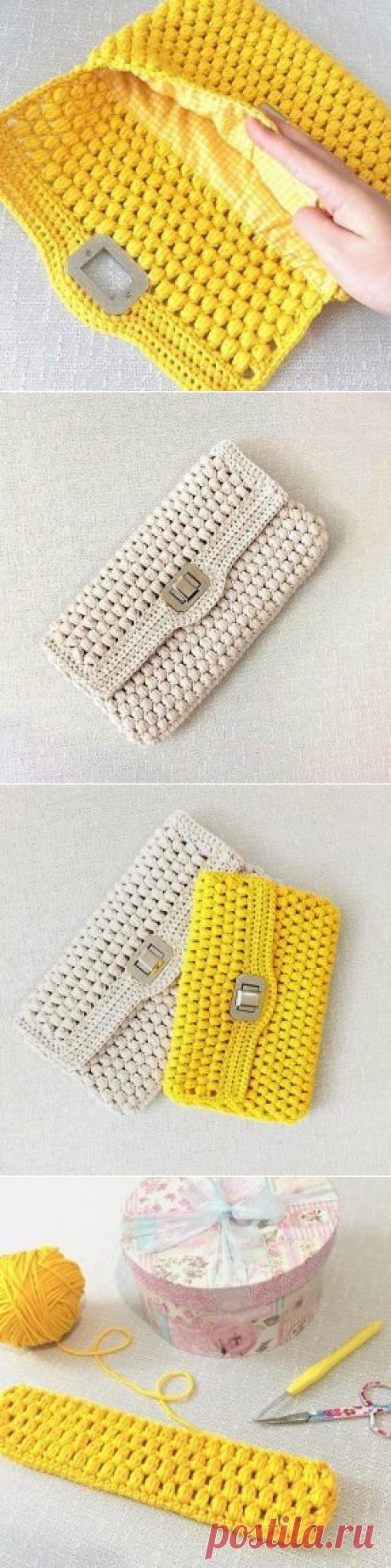 Вязаные сумочки всегда в моде