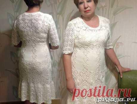 Женственные модели платьев для солидных дам с описанием.   Волшебный клубочек!   Яндекс Дзен