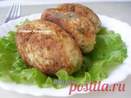 Куриные котлеты с сыром и картофелем | RUtxt.ru