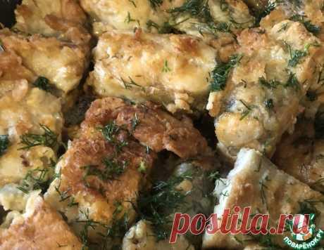 Минтай жареный – кулинарный рецепт