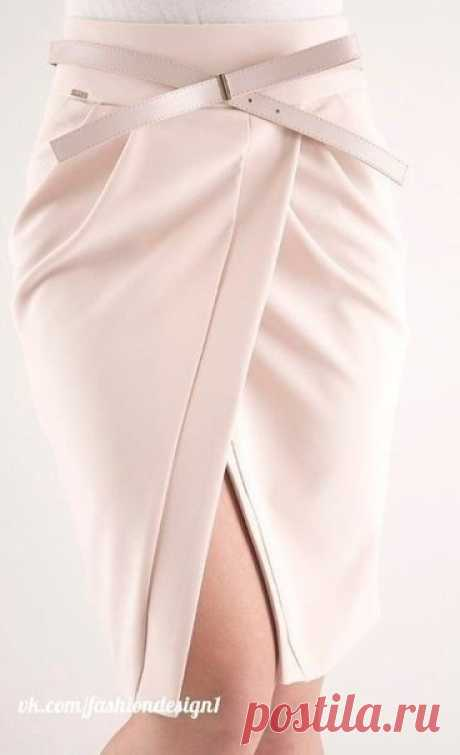 Очень оригинальные юбки с запахом: идеи — Сделай сам, идеи для творчества - DIY Ideas