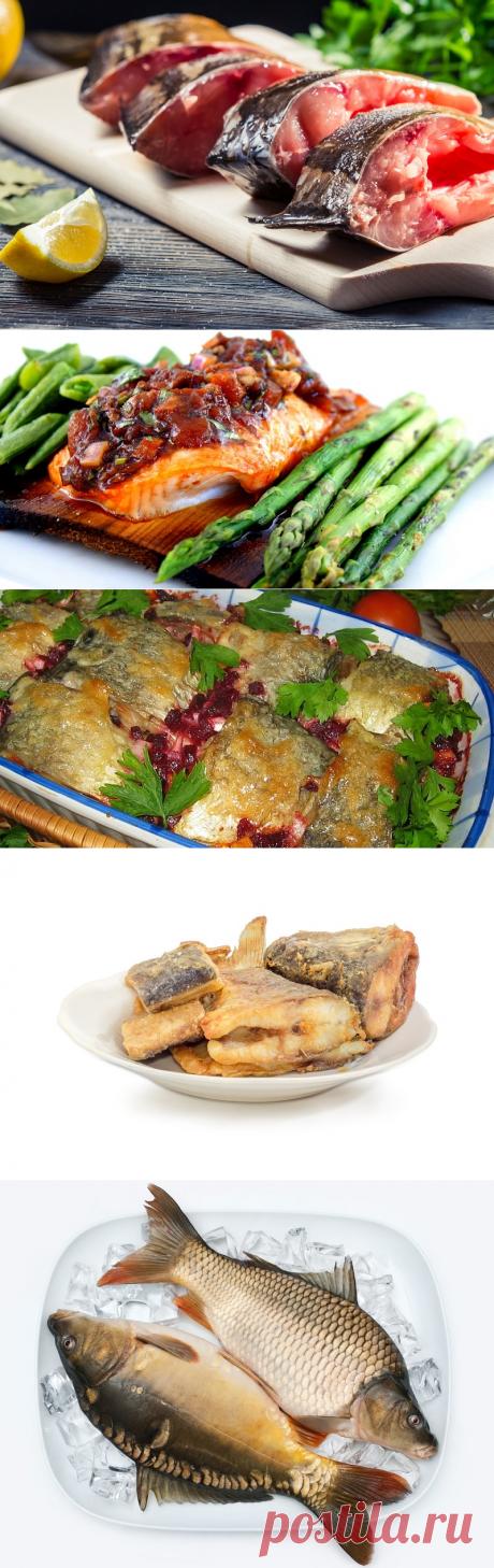 Рыба по-еврейски, запеченная с овощами - отличный вариант для легкого ужина!