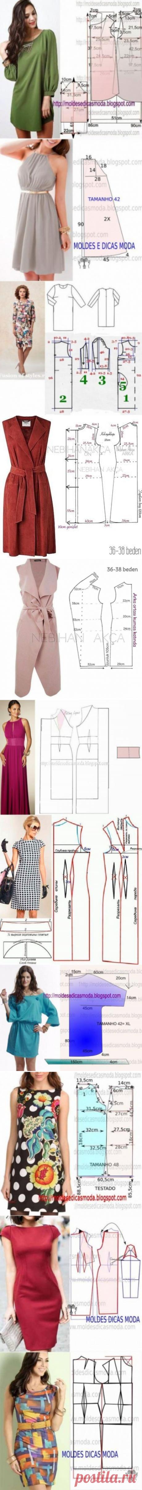 Модные и простые выкройки