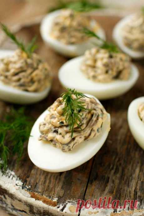 5 оригинальных начинок для фаршированных яиц