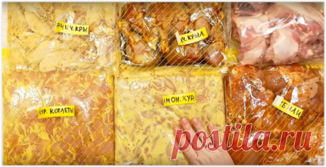 Заготовки из курицы - 6 рецептов, которые покоряют вкусом и экономят время!