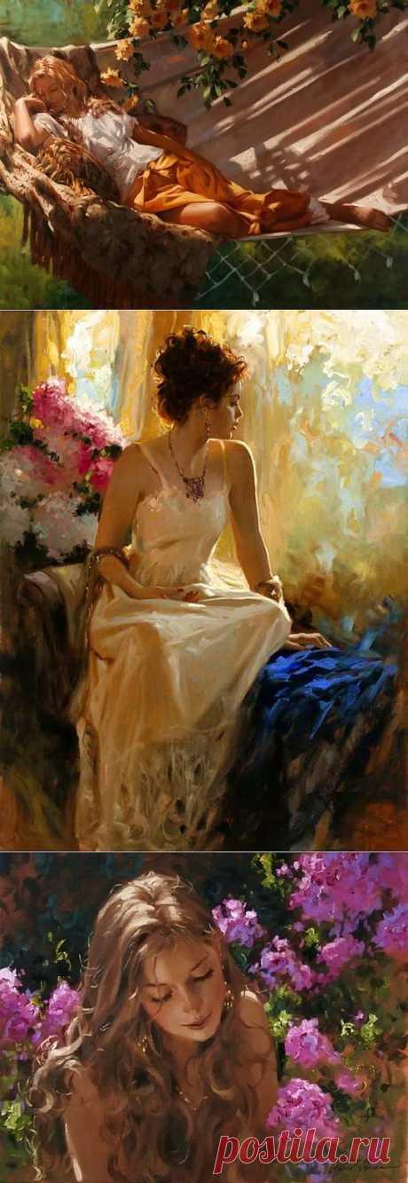 (+1) - драгоценная ты моя женщина | Искусство