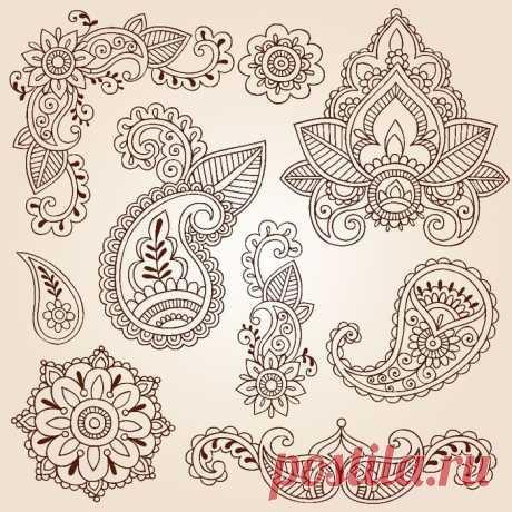 Paisley - шаблоны для росписи | Варварушка-Рукодельница
