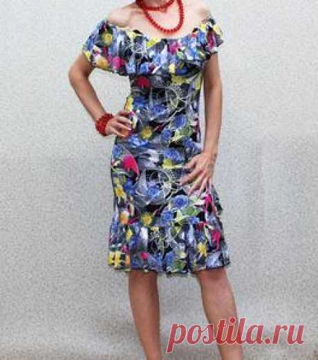 """""""Amber"""" Floral Dress by Band of Tailors"""