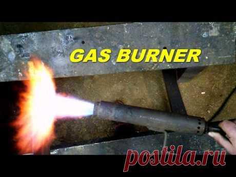 Инжекционная газовая горелка своими руками | homemade gas burner - YouTube