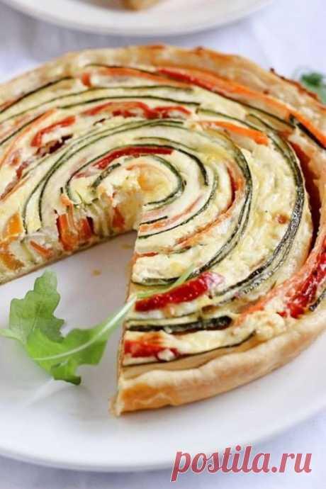 (1) Gallery.ru / Овощной пирог с творогом. - Рецепты, но не мои (шестой) - lapyshok