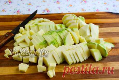 La ensalada de Ankl bens de los calabacines para el invierno
