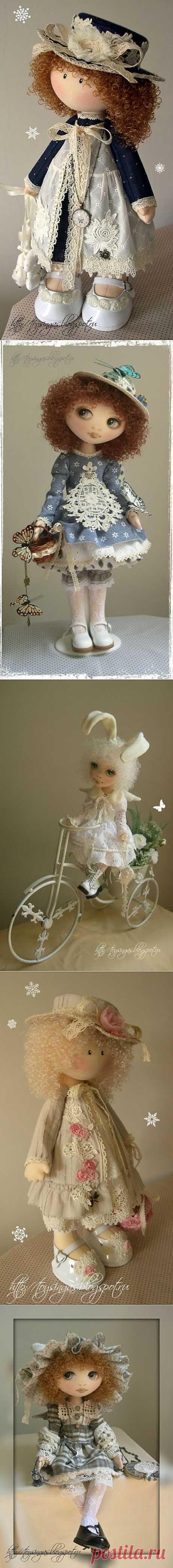 куколки Инги Киселёвой.
