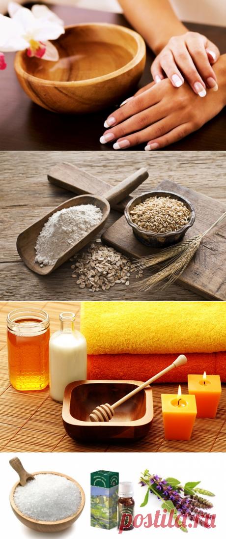 Ванночки для сухих рук: лучшие средства от сухости кожи