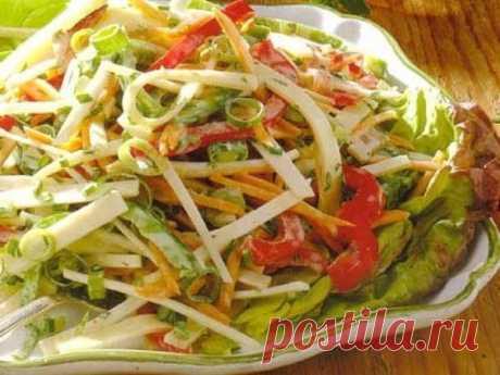 Жиросжигающий салат для похудения №21 | Похудение и стройная фигура | Яндекс Дзен