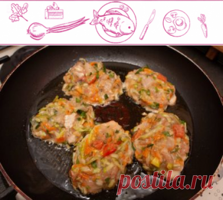 Рубленые котлеты из куриного филе, пошаговый рецепт | ВкусноСайт