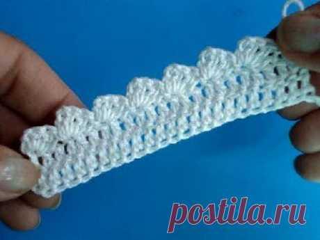 Вязание крючком Кайма.