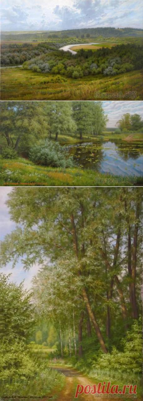 Картины художника из Омска Владислава Осипцова