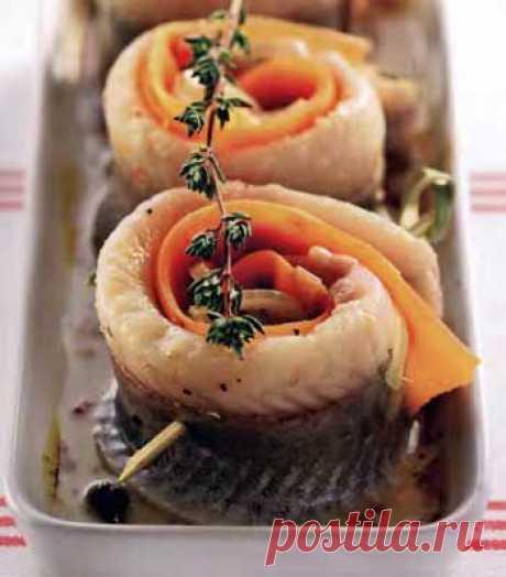 Рецепт приготовления рольмопсов с сельдью - Холодные закуски . 1001 ЕДА вкусные рецепты с фото!