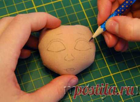 Как нарисовать лицо кукле. Рисуем лицо кукле :: MSToys.ru