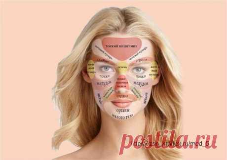 Признаки заболеваний на лице | Здоровье проявляет красоту | Яндекс Дзен
