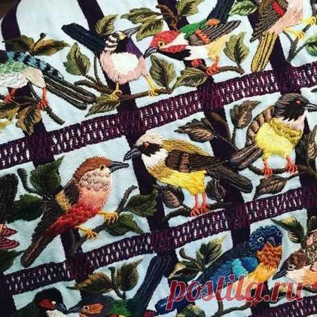 (6) Gallery.ru / Фото #44 - Вышитые птички - bird-of-heart