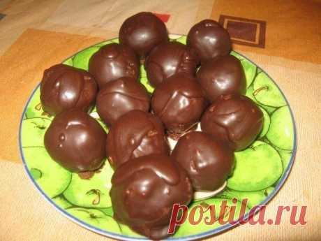 "Balls \""Dream\"" — a fantastic dessert without pastries"