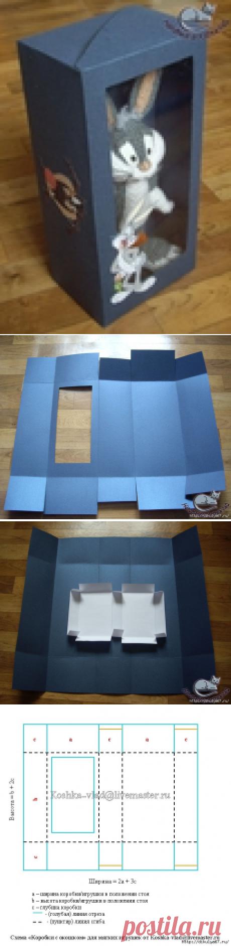 Box with a window. MK from Koshka-vlad (Ekaterina)