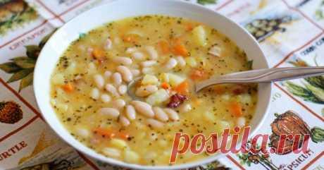 Божественный суп с фасолью. Рецепт моей бабушки!