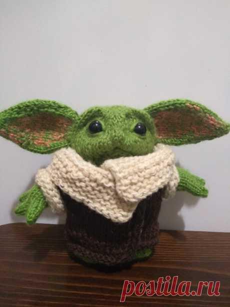 Малыш Йода - герой звездных войн. Вязаные игрушки - подарок любимым: Каталог