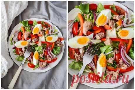 9 дієтичних салатів замість вечері. Їжте навіть після 10 вечора – все одно схуднете Вчимось вечеряти правильно!